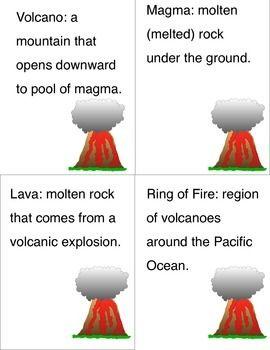 Volcano facts homework help