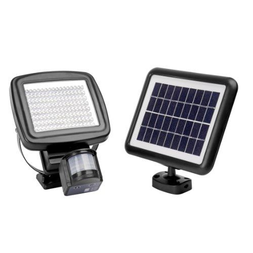 Outdoor Decor 1000 Lumen Microsolar 126 Led Lithium Battery Digitally Adjustable Time Lux W Motion Sensor Lights Adjustable Lighting Sensor Lights Outdoor
