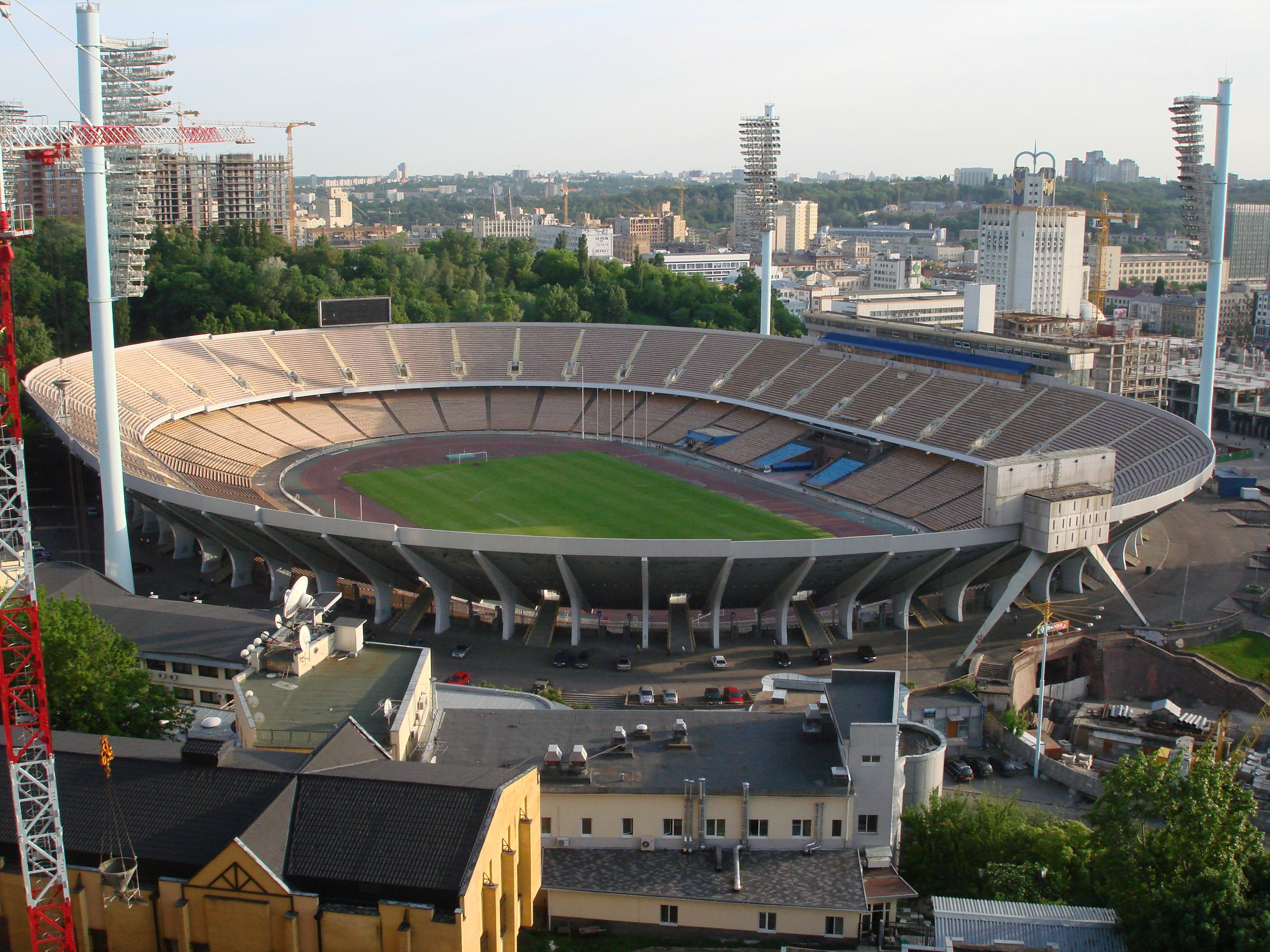 NSK Olimpiyskiy, Kiev (Ucrania): 83.400 personas