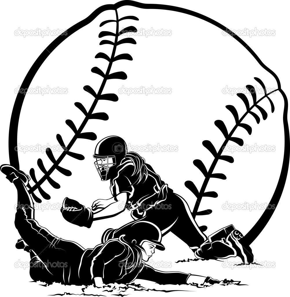 47+ Baseball player sliding clipart ideas in 2021