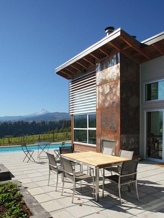 Rusted Tin Siding For Homes Metal Siding Design