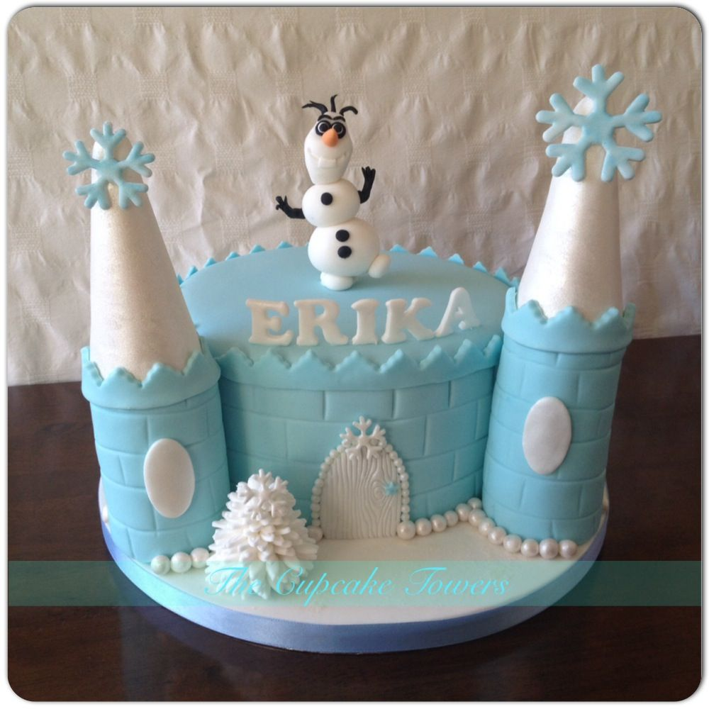 Frozen birthday cake w olaf For the Kids Pinterest Frozen