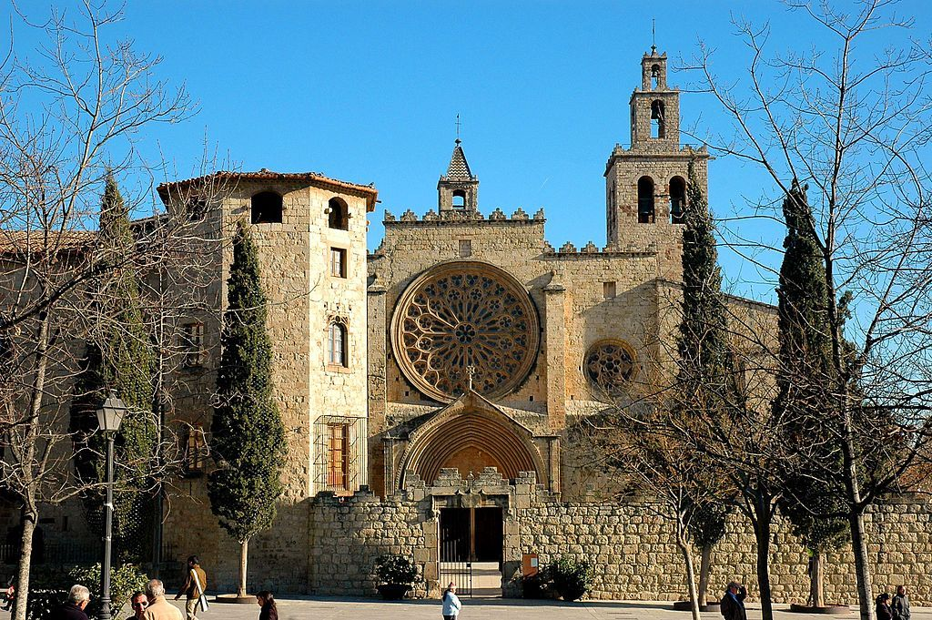 Monasterio Sant Cugat Del Vallès Monasterios Provincia De Barcelona Siglo Xi