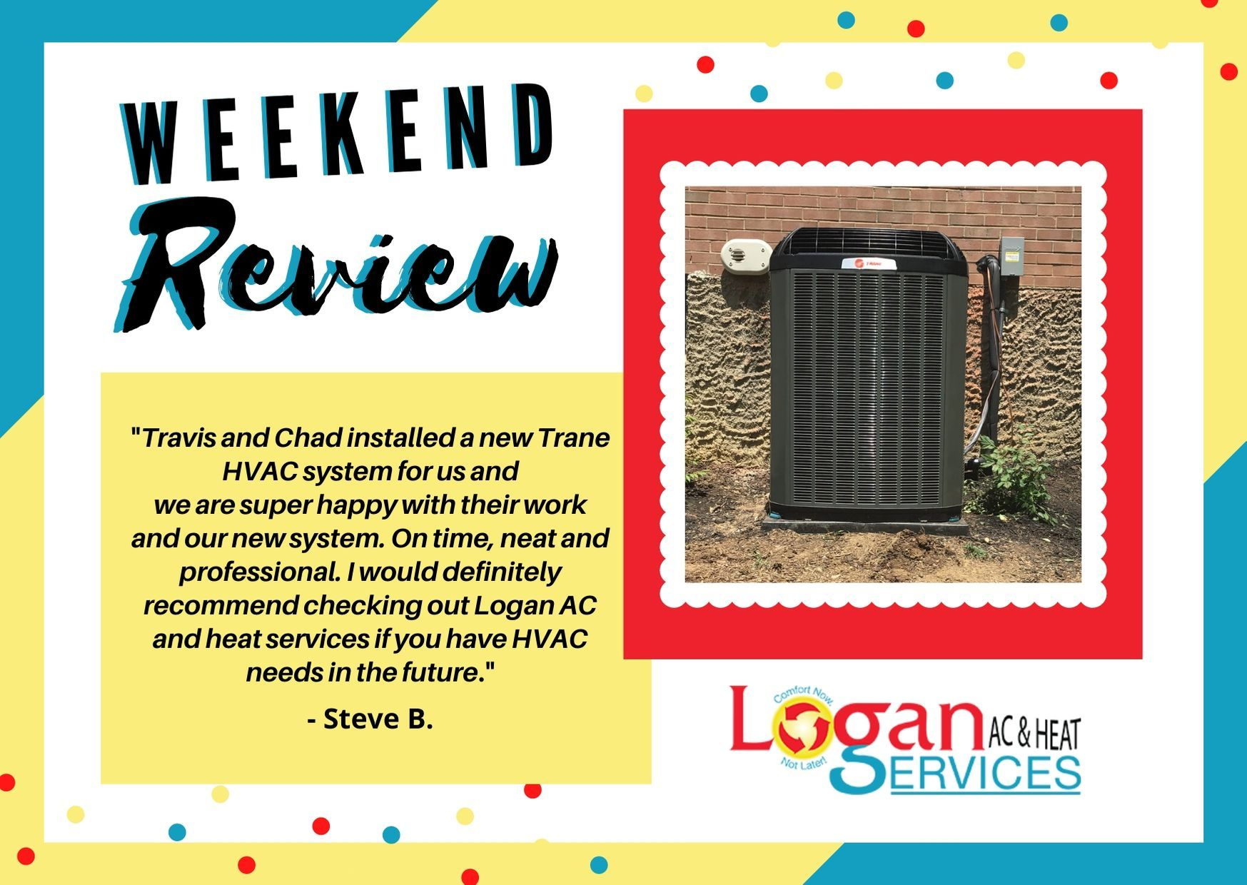 WEEKEND REVIEW Our Installers go through extensive
