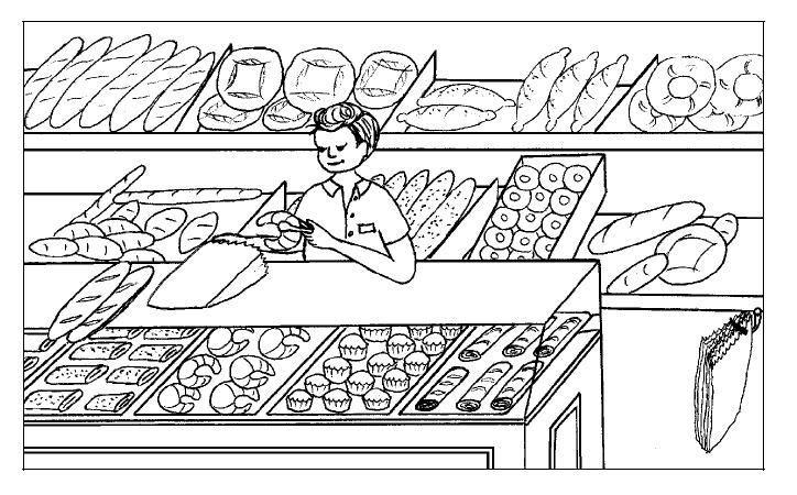 panaderia | sklepy | Tiendas, Dibujos y Panadería