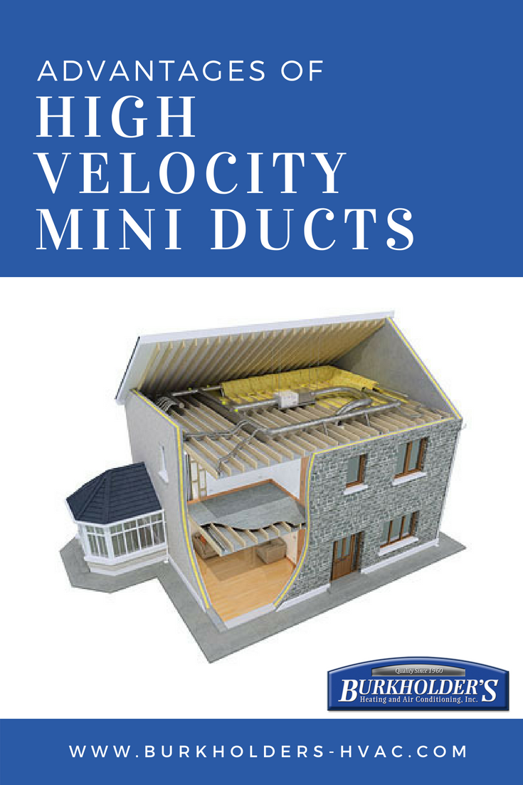 A High Velocity Air Conditioner Resembles A Traditional Ac It Supplies Air At A Rate Of 2 000 Feet Per Second Do You Know The Differe Velocity Duct Home Reno