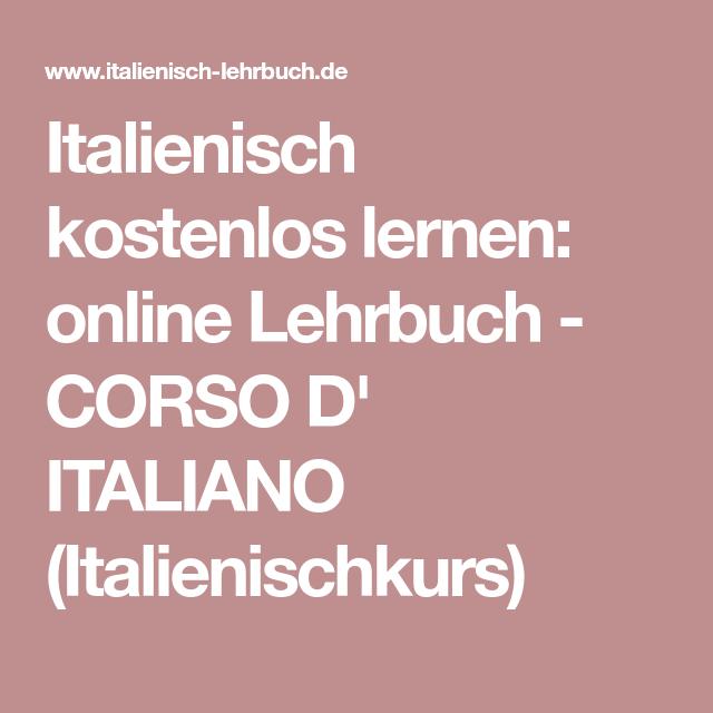 Kostenlos übersetzen italienisch deutsch in PONS Übersetzungen
