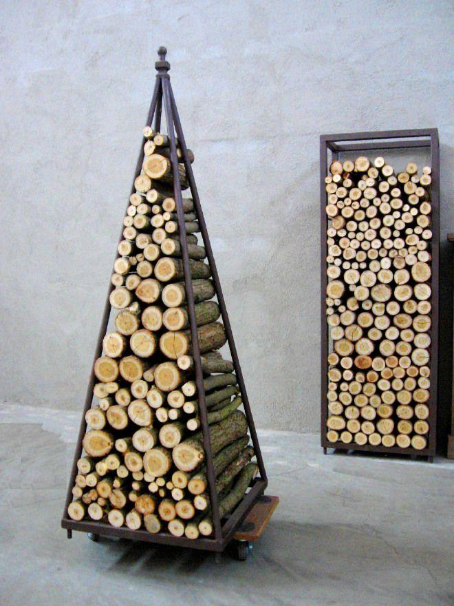 0225 Porta Legna Fire Wood Storage Contenitore Per Legna