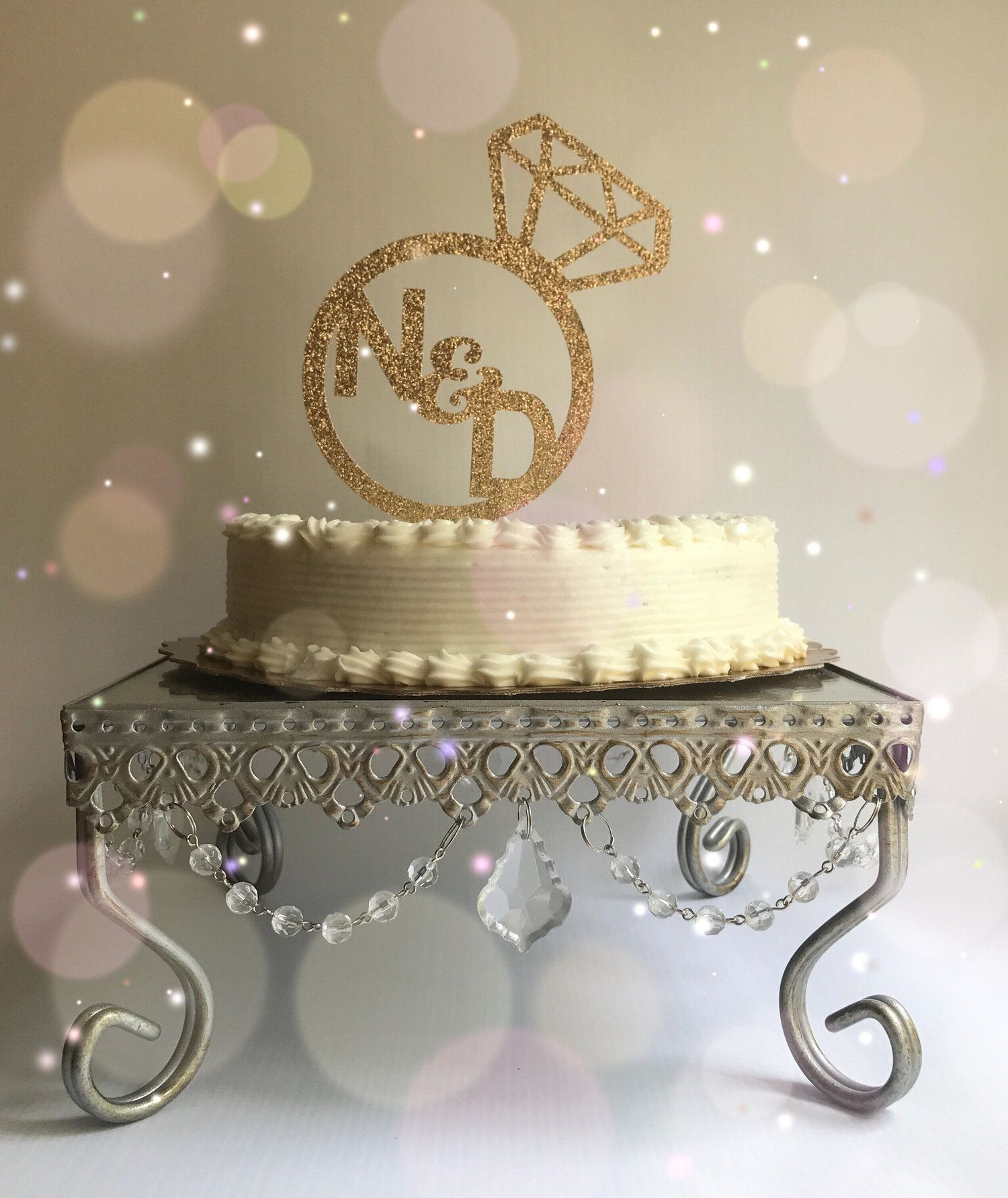 Engagement Party Decor Ideas With Images Engagement Cake