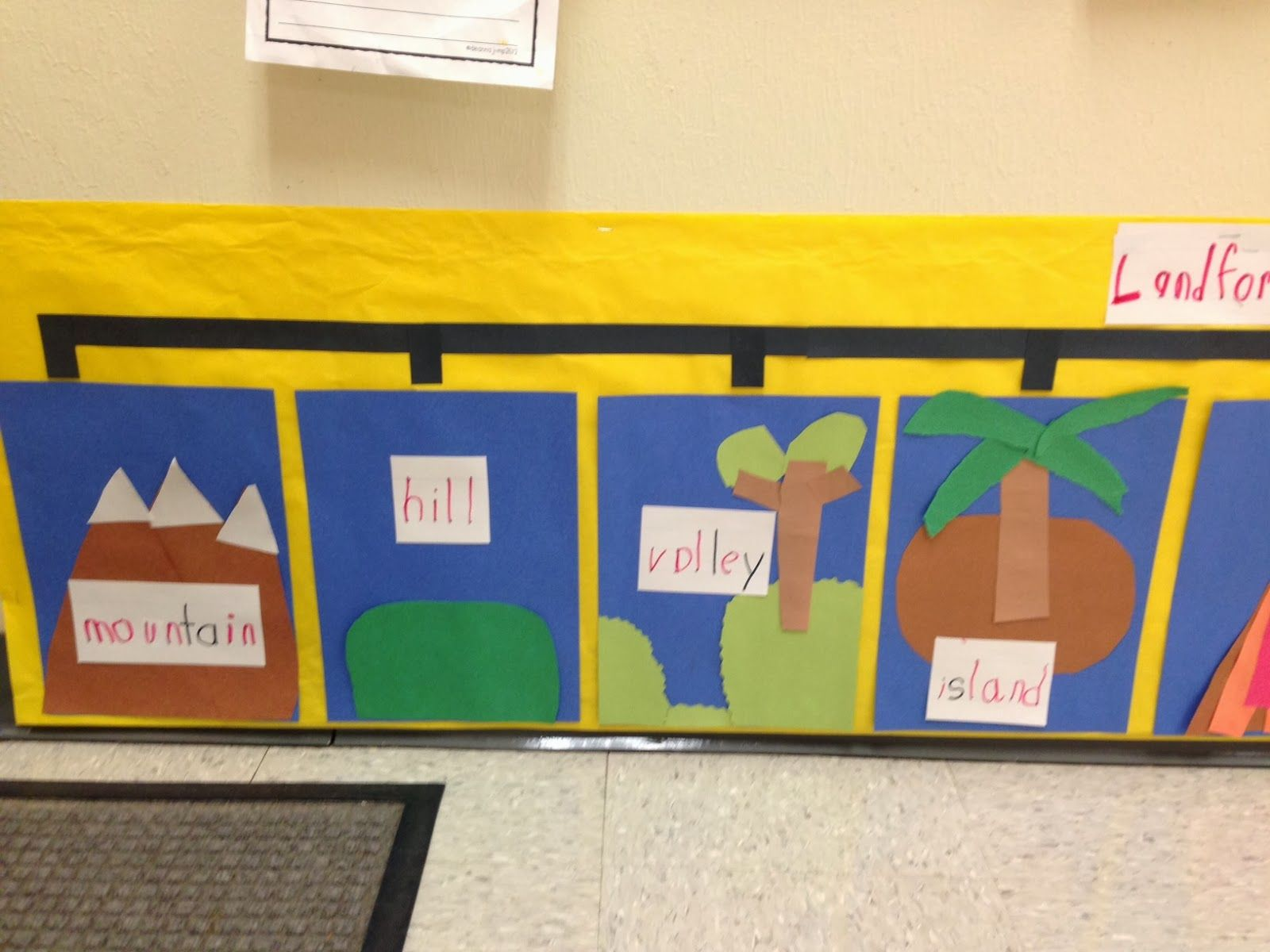 Chalk Talk A Kindergarten Blog Landforms
