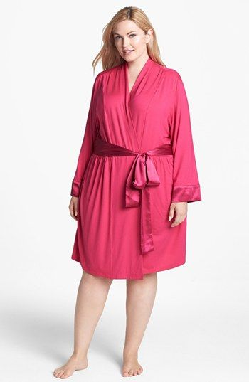 Midnight by Carole Hochman 'Dream Weaver' Robe (Plus Size) available at #Nordstrom