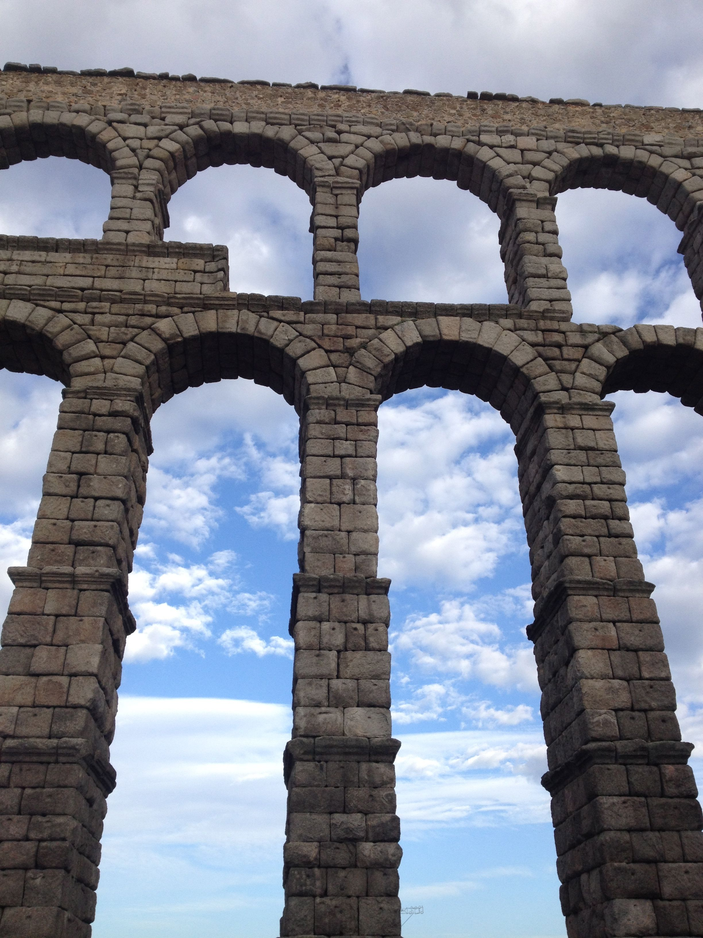 Acueducto. Segovia. ESPAÑA