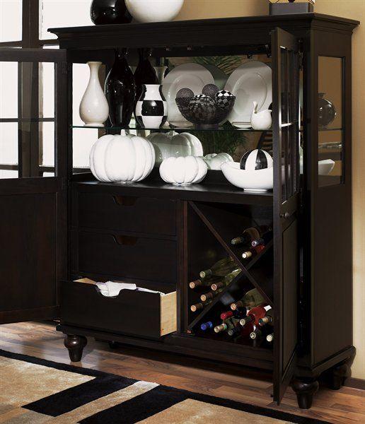 Kincaid Furniture 46-088 Somerset Display China Cabinet - Home ...