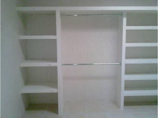 Closets de muroblock clasf ideas para muebles for Disenos de closets sencillos