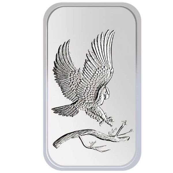 1 Oz Silver Eagle Silver Bar Treasured Coinage Market Silver Bars Silver Bullion Silver Eagles