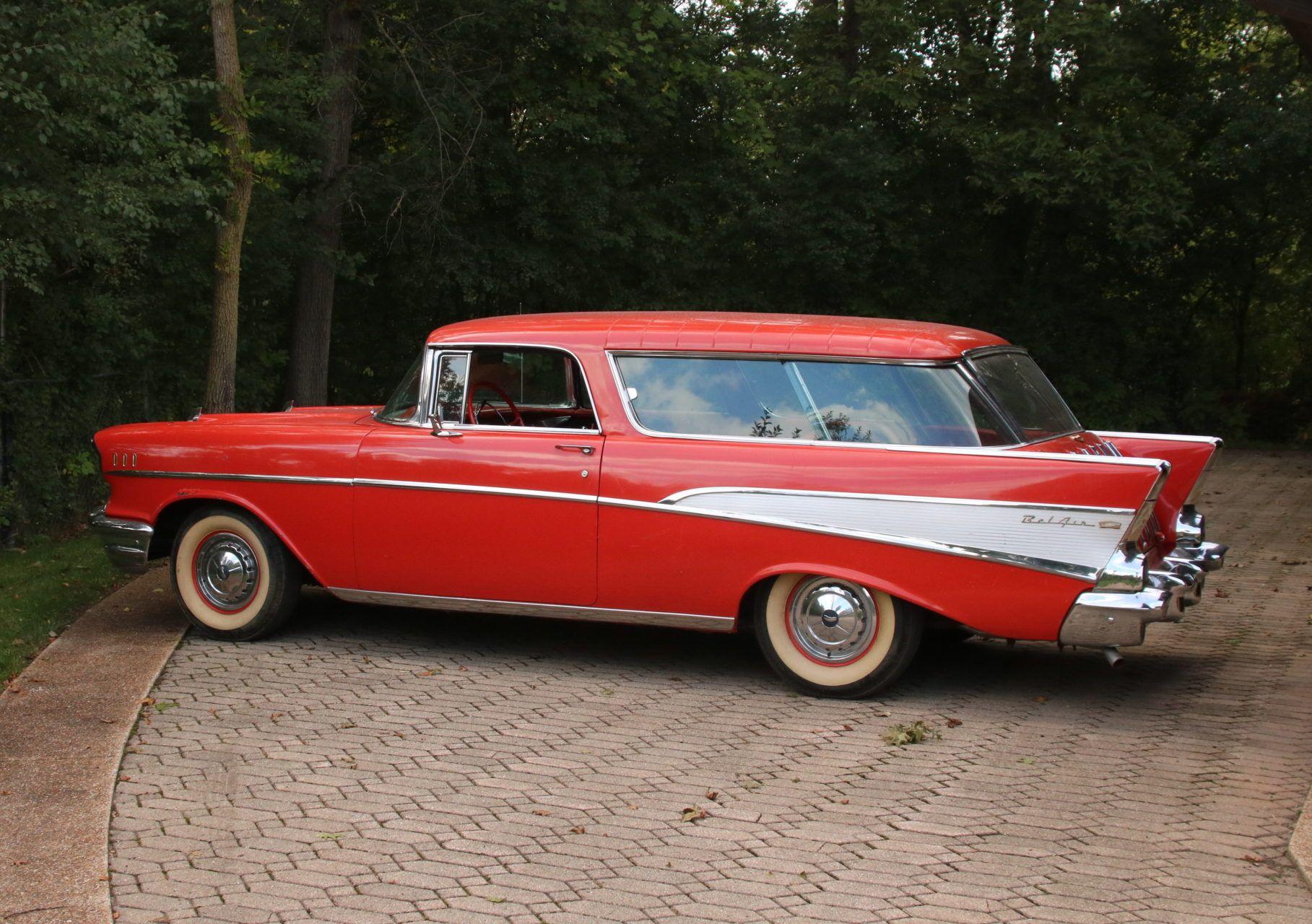 1957 Chevrolet Bel Air Nomad Station Wagon 1957 Chevrolet