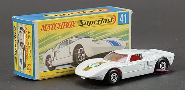 Matchbox Superfast MB41-c Ford GT40 racing car