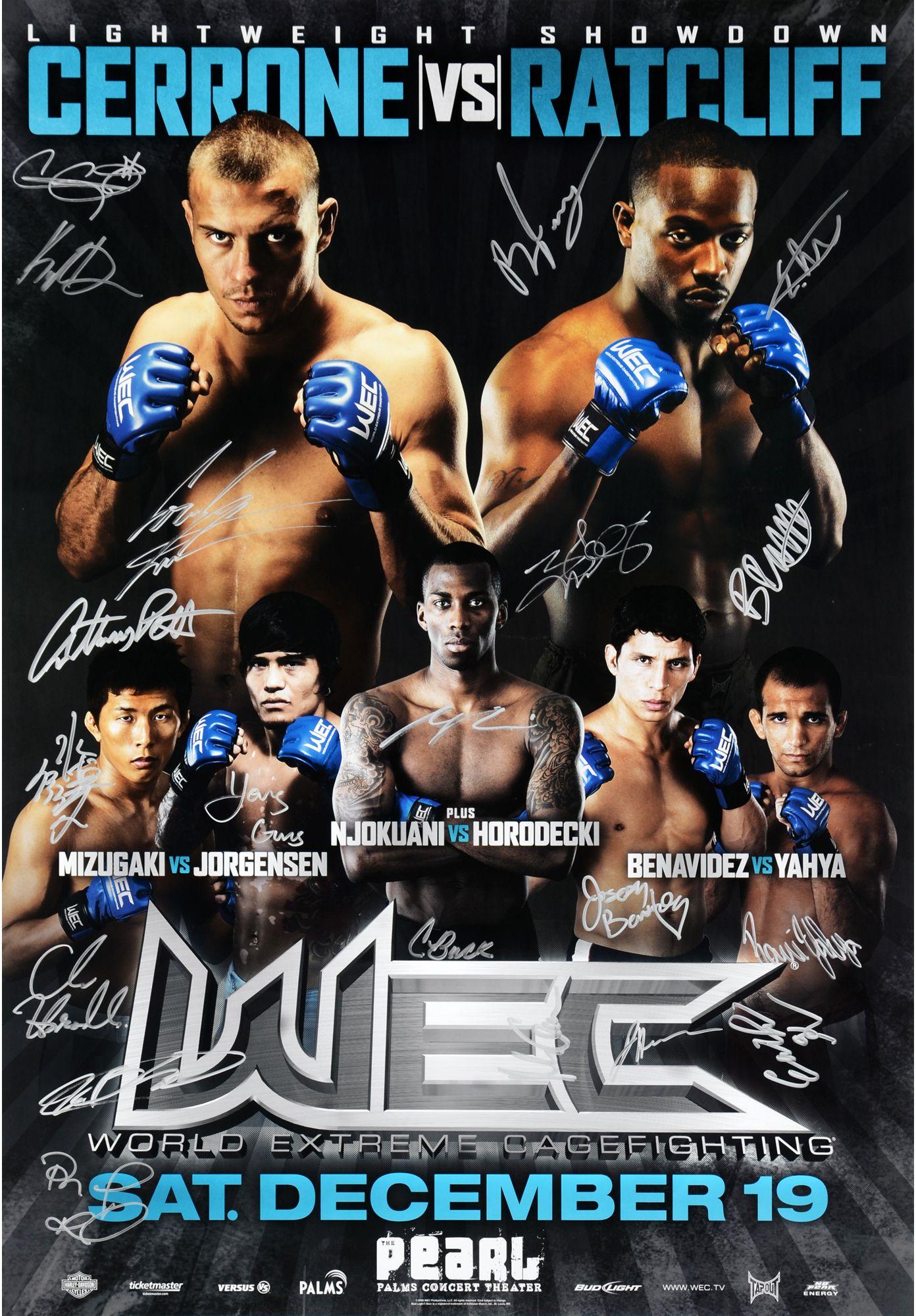 click to zoom Ufc poster, Benavidez, Event poster