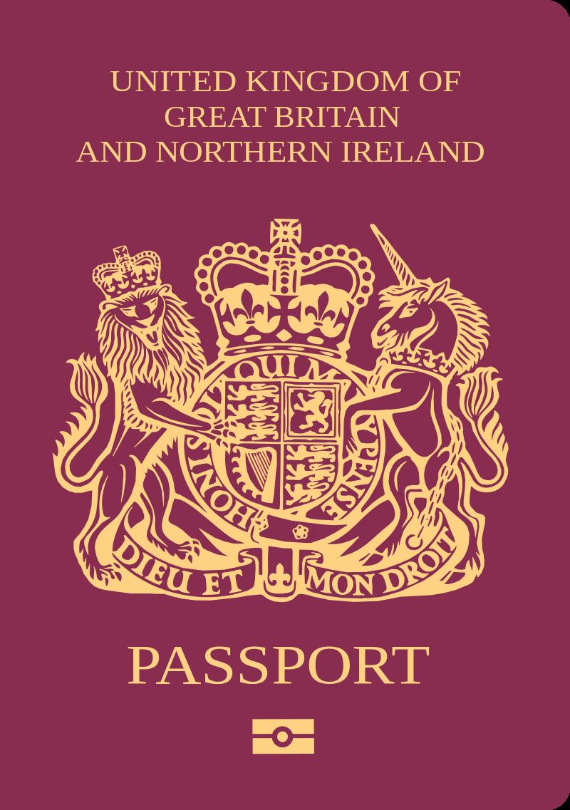 Pin By Jeff Paul On Tattoo Ideas British Passport Passport Kingdom Of Great Britain