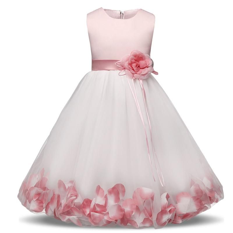 830e214bfe53 New Summer Children Dresses For Girls Kids Formal Wear Princess Dress For  Girl 4 6 7 8 Years Birthday Party Events Prom Dress