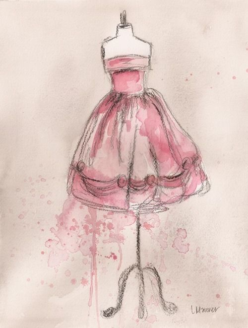 Pin von jolina nolte auf inspiration pinterest - Kleider zeichnen ...