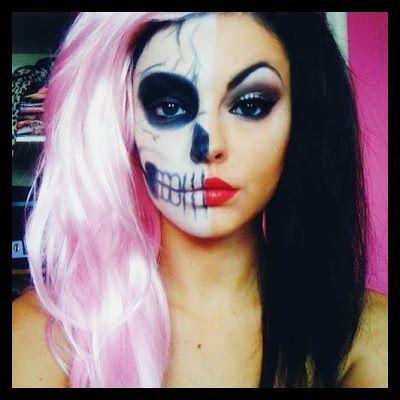 Cool Halloween makeup Halloween Makeup Ideas Pinterest - cool halloween ideas