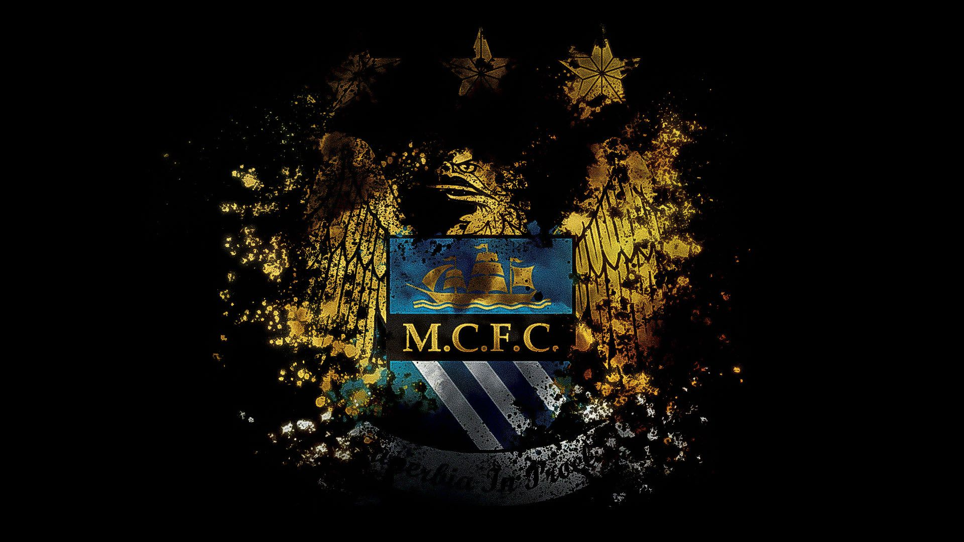 Manchester city wallpaper sports pinterest city wallpaper manchester city logo wallpaper 1920 x 235 kb voltagebd Choice Image