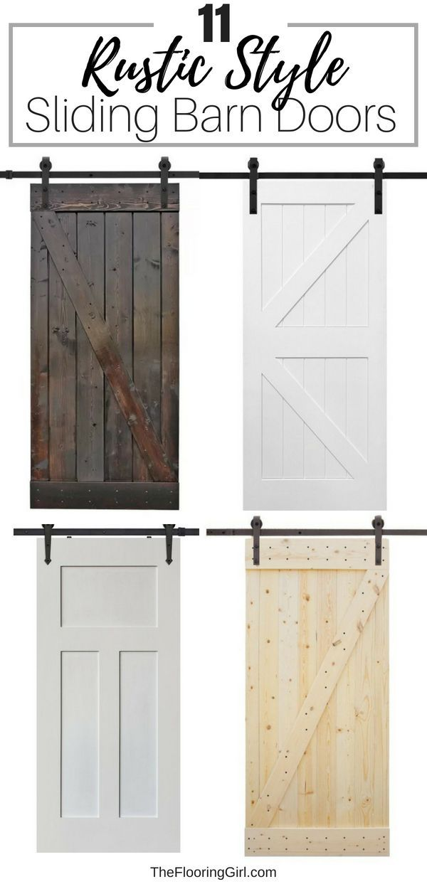 Photo of 11 Affordable sliding barn doors for an authentic farmhouse look | The Flooring Girl