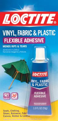 Loctite Vinyl Fabric Plastic Flexible Adhesive From Loctite Adhesives Plastic Repair Vinyl Repair Plastic Adhesive