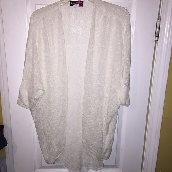 Cream cardigan mid sleeves Brought from Marshalls, never worn. Sweaters Cardigans
