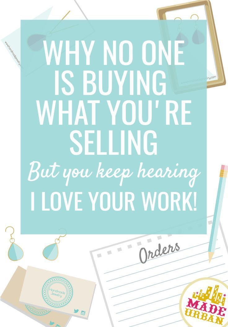 How to Sell More Handmade Products (Online or at Craft Shows #craftstosell