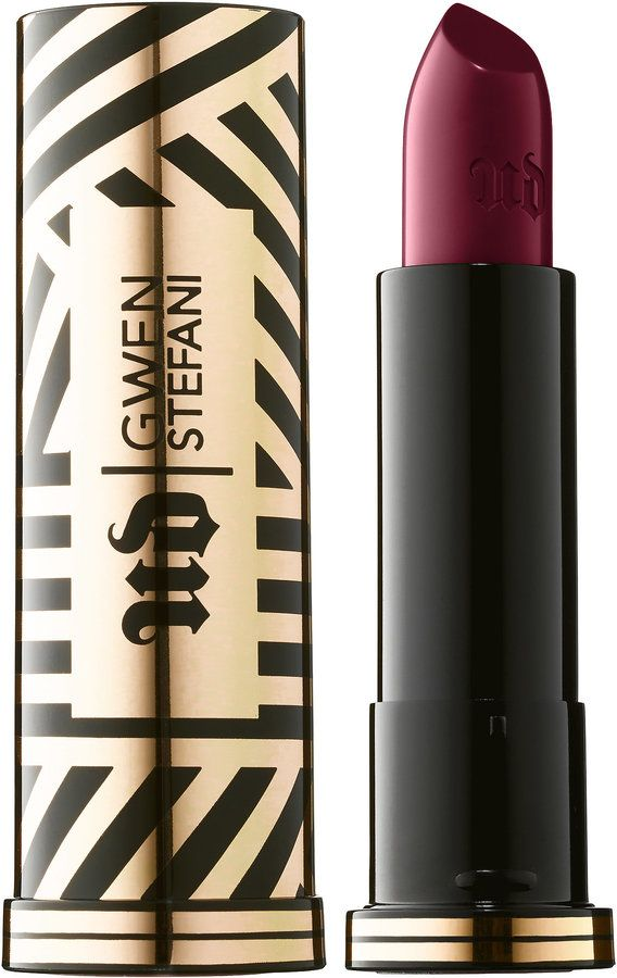 Urban Decay x Gwen Stefani Lipstick now available online, 6 shades (January 2016)