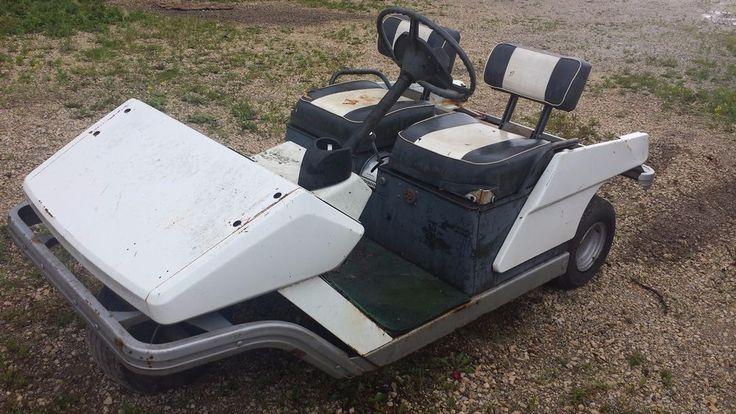Vintage Cushman Golf Cart Electric To Gas Rebuild Restore Golf Carts Vintage Golf Golf