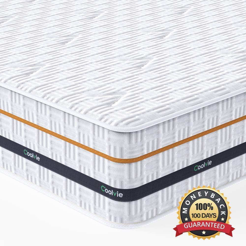 Twin Mattress Coolvie 11 Inch Innerspring Mattress Hybrid Pocket Spring Mattress In 2020 Twin Xl Mattress Single Bed Mattress Mattress