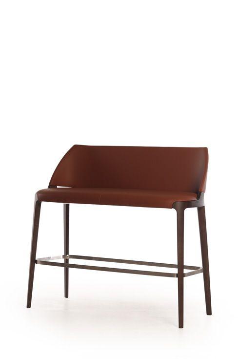 Potocco Velis Double Barstool Bar Stools Bar Stool Chairs