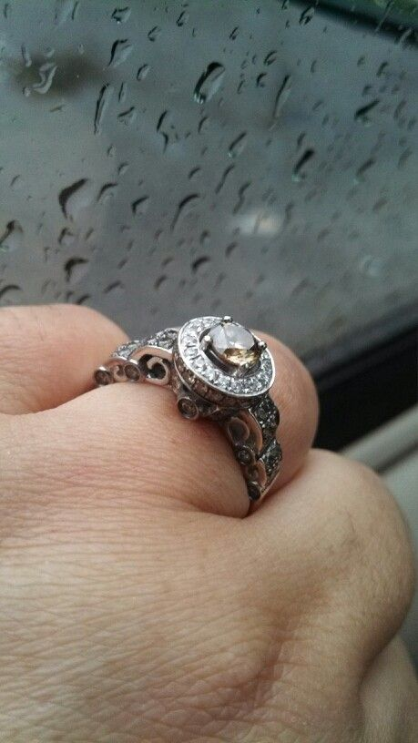 Chocolate diamond.. Levian--I really want this one!!  Fantastic piece of jewelry!!
