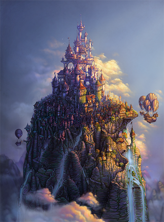 Whimsical Fantasy Art Jigsaw Puzzle | Playing Grounded Puzzles
