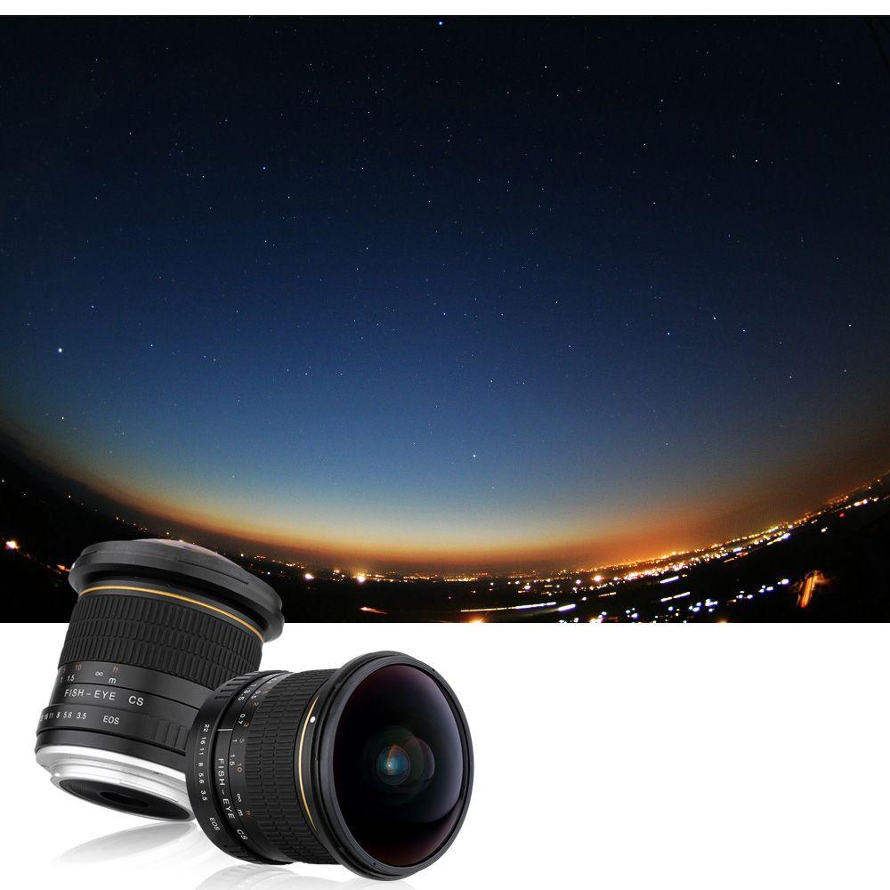 Rabatt Lightdow 8mm F/3,5 Ultra Weitwinkel Fisheye Objektiv für ...