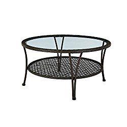 Arthur All Weather Wicker Patio Coffee Table