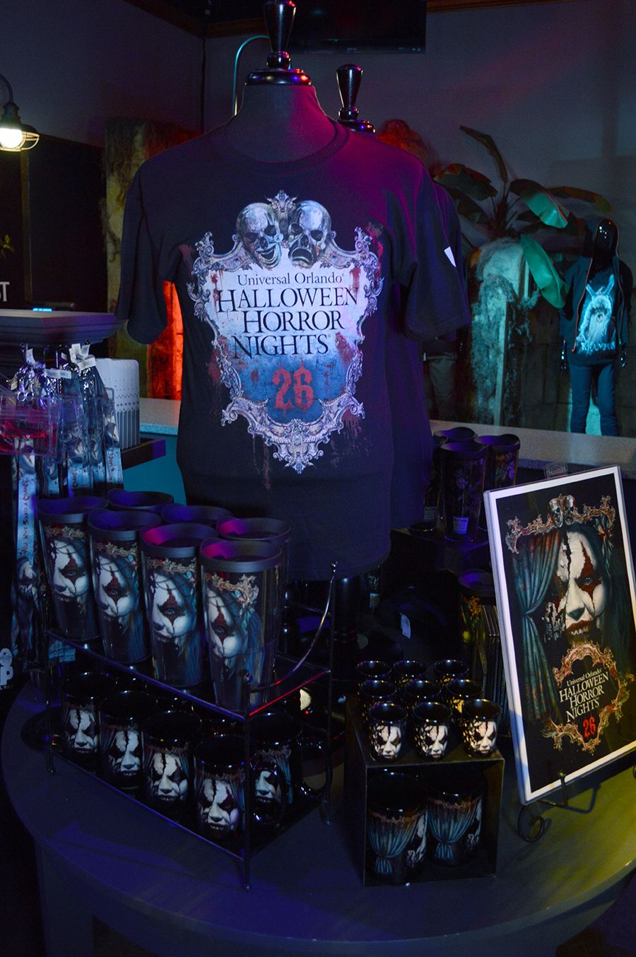 Exciting New Halloween Horror Nights 26 Merchandise Now