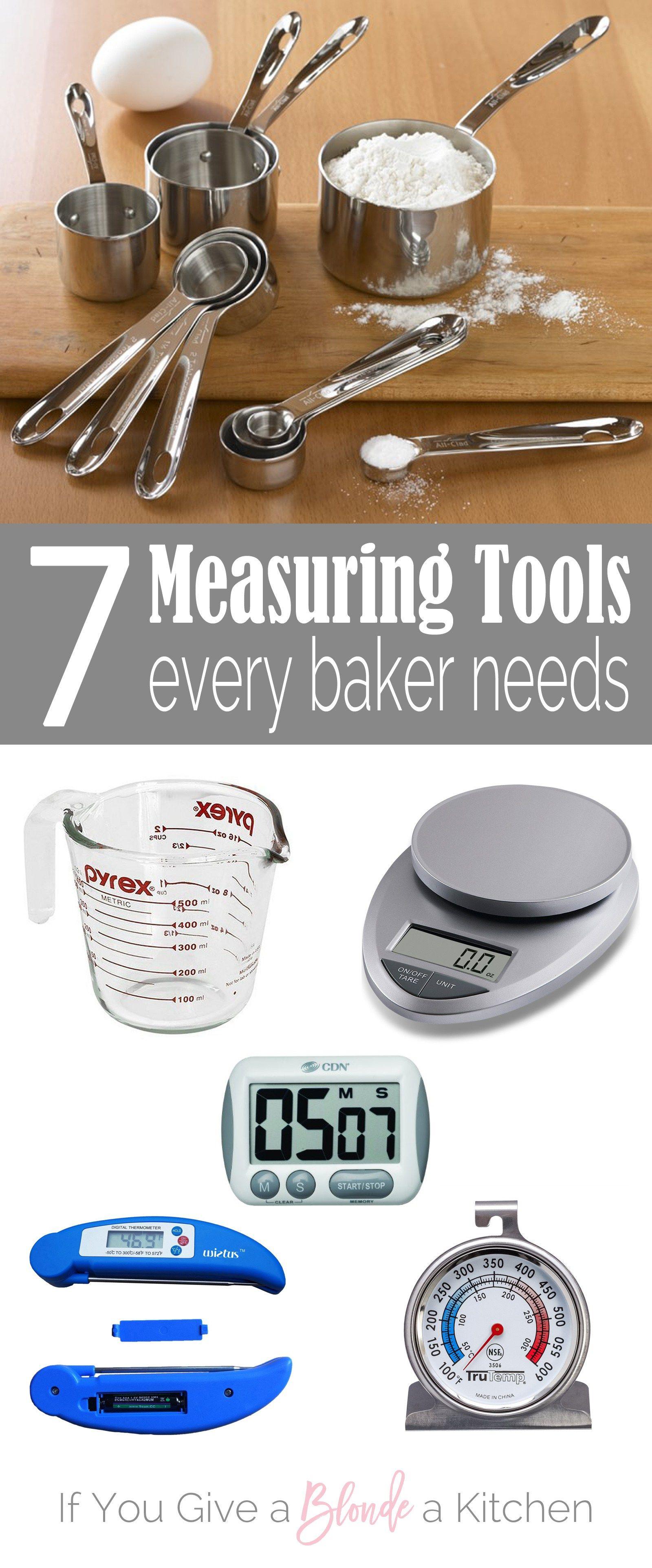 Measuring Tools Every Baker Needs Baking Measuring Tools Baking