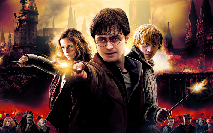 Download Wallpapers 4k Harry Potter And The Deathly Hallows