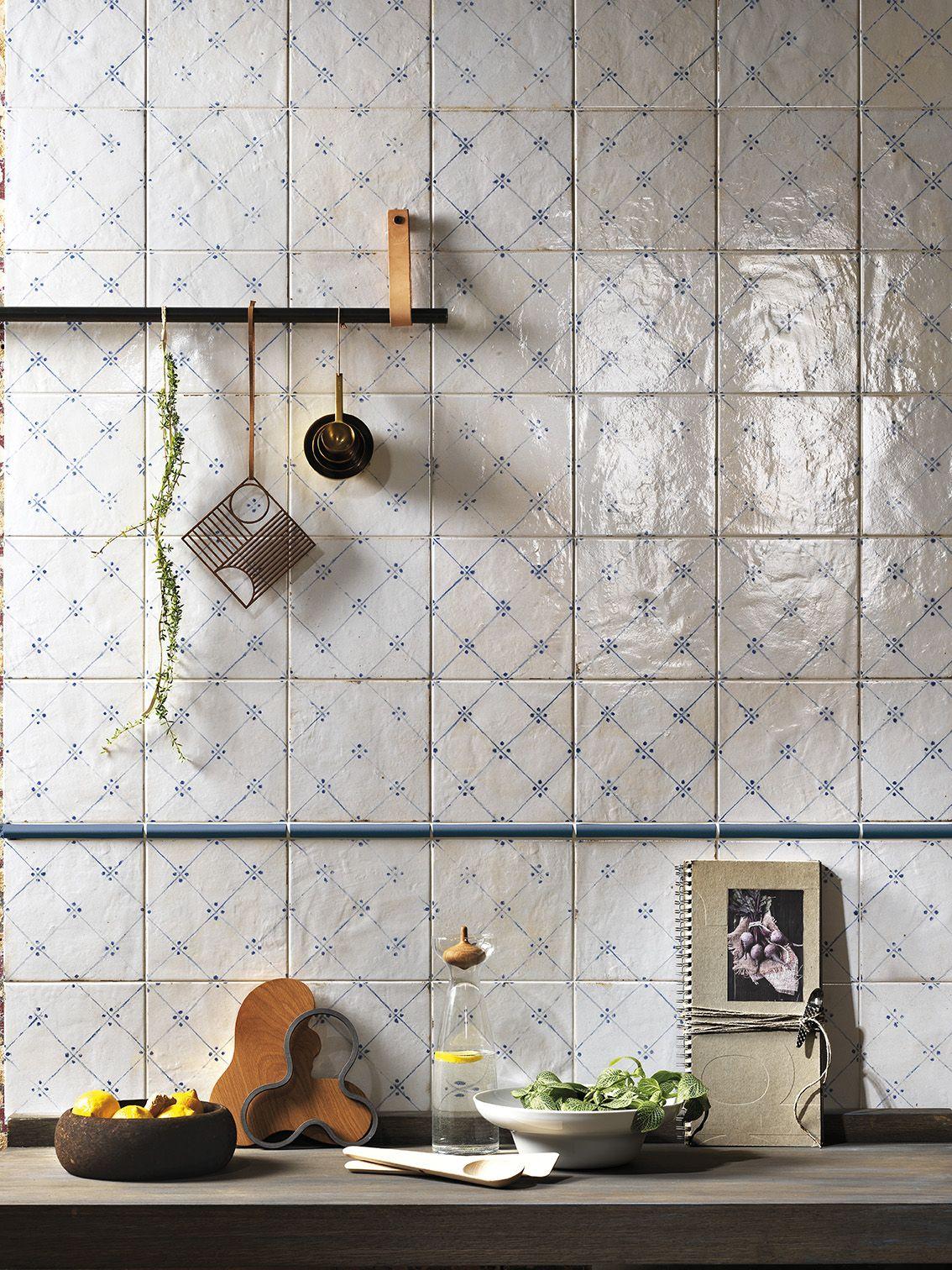 Firenze Heritage Maiolica Bianca Deco Blu Kuche Dekoration Kuche Einrichten Kuche