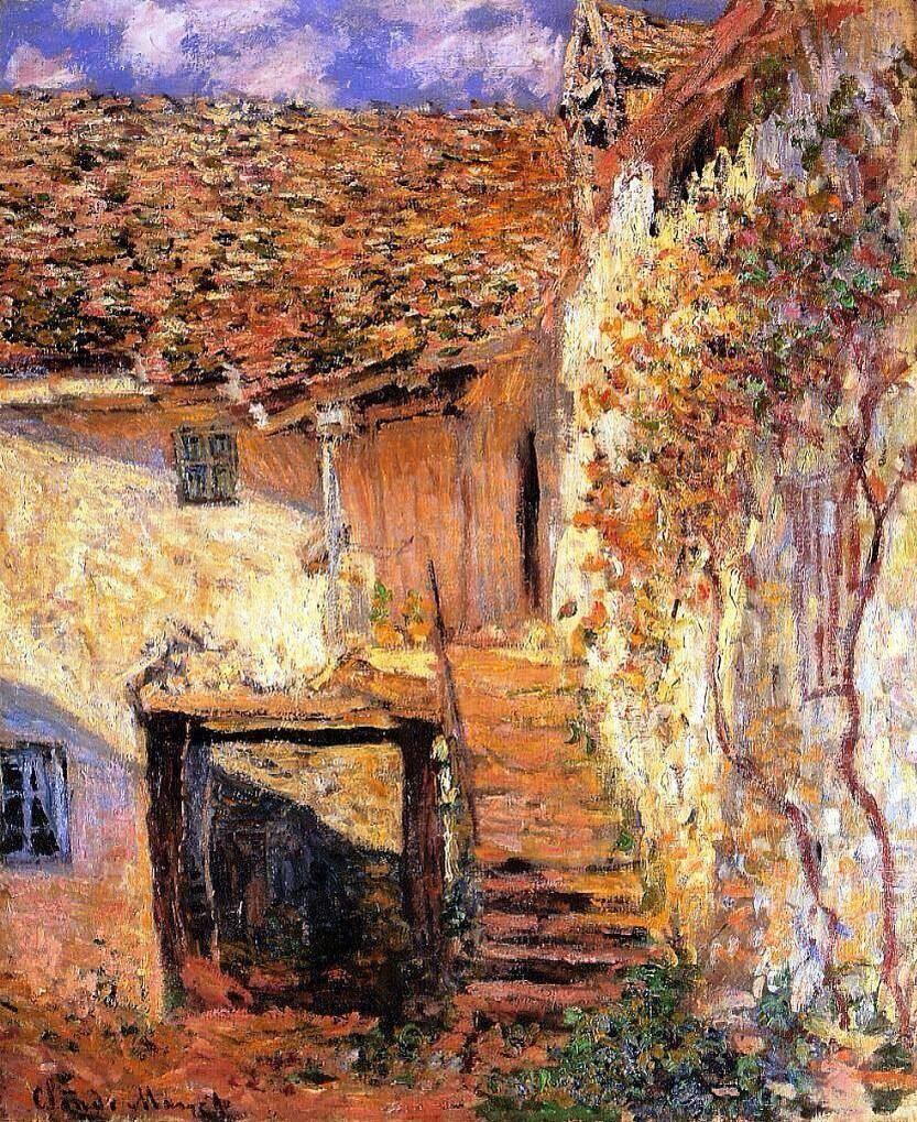 Claude Monet - The Steps