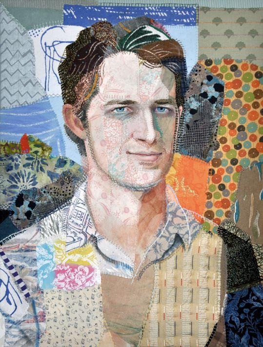 A quilt of Kelly's son. Quilt Portrait | Kelly Gallagher - Abbott ... : portrait quilts - Adamdwight.com