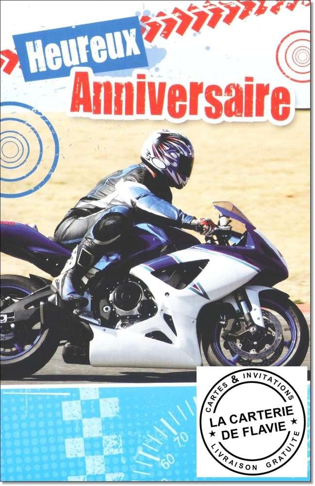 carte anniversaire homme moto Carte D'invitation Anniversaire Gratuite À Imprimer Moto Fresh