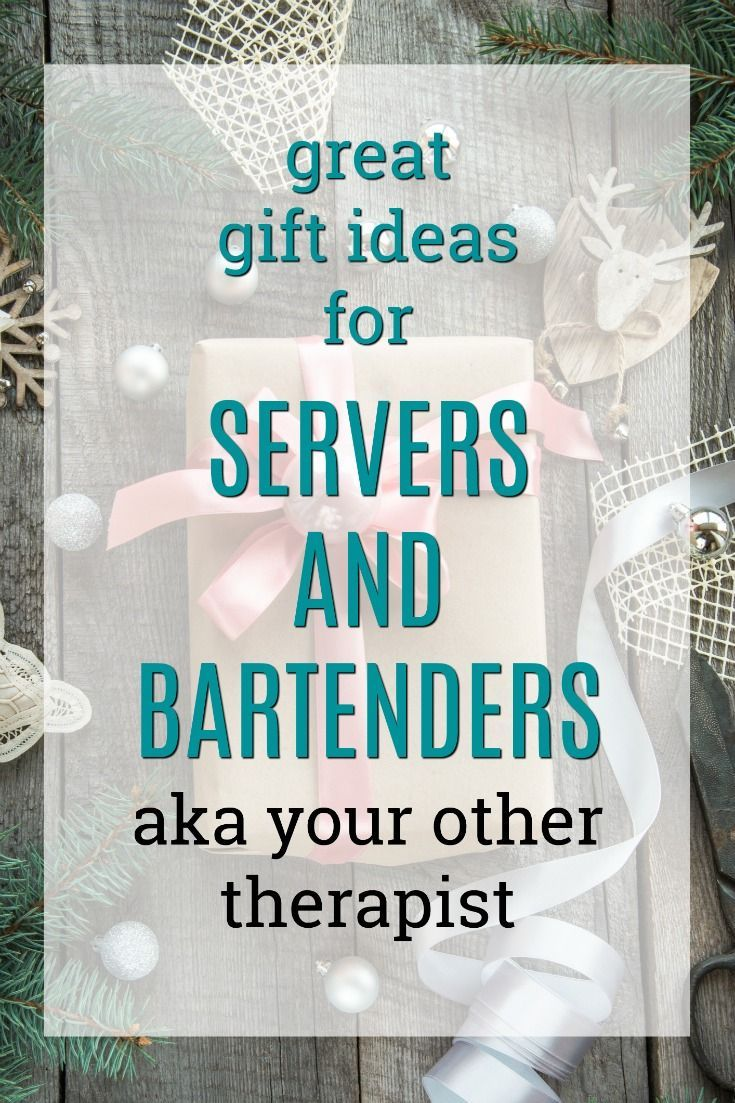 20 Gift Ideas For Restaurant Servers Bartenders Waitress Gift Employee Christmas Gifts Employee Gifts