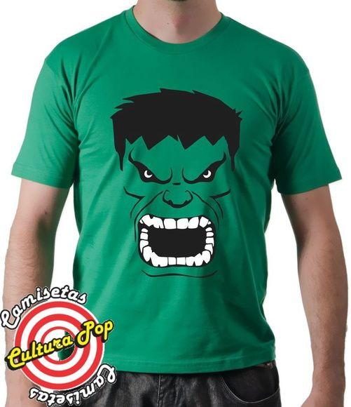Camiseta Masculina e Blusa feminina Heróis Incrível Hulk.   HULK ... b9185c8e2b