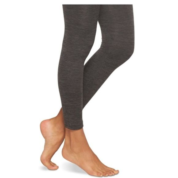 c352f32f6e9660 Fleece Leggings NWOT charcoal gray fleece lined leggings. Xhilaration Pants  Leggings
