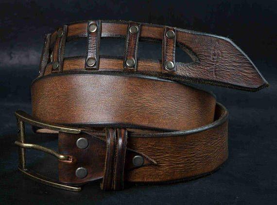 Brown Leather Belt, Design Belt, Mens Belt, Buckle Belt, Mens Style, Brown Belt, Fashion Leather, Unisex Belt, Ornate Design, Art Leather